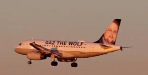 gaz plane