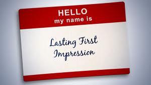 first impressi